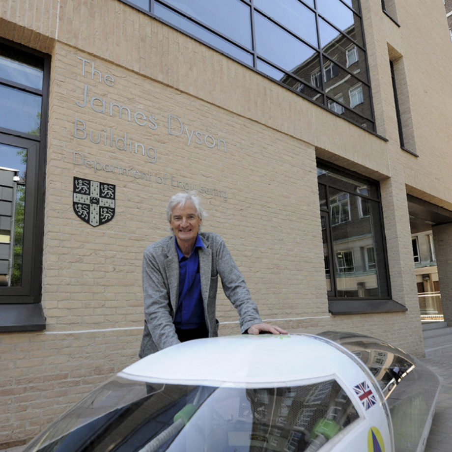 Engineering buildings opened by Sir James Dyson