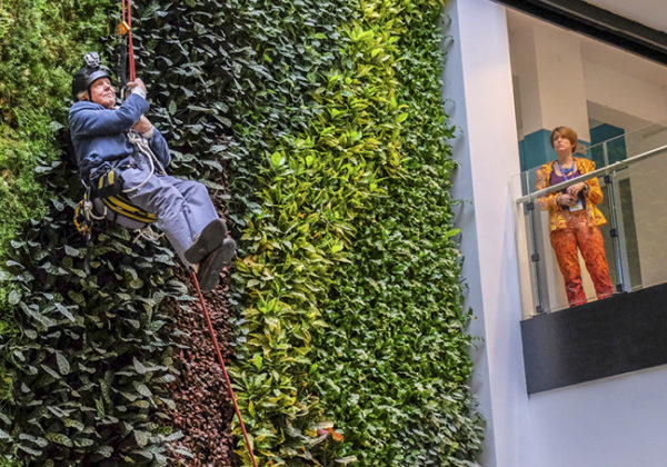 Sir David Attenborough opens namesake building