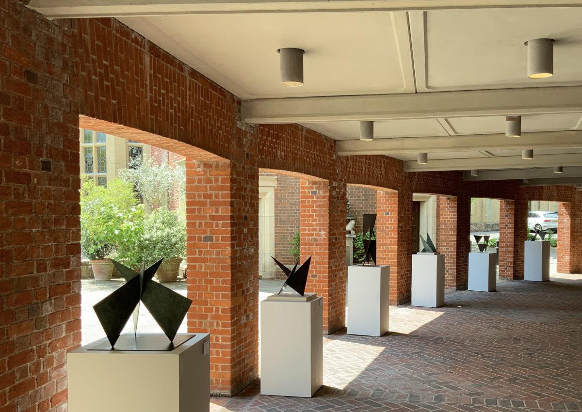 Former NHA partner Nicholas Hare exhibits sculpture at Glyndebourne