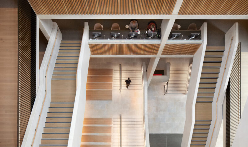 Prix Versailles - Global architectural award for UCL Student Centre