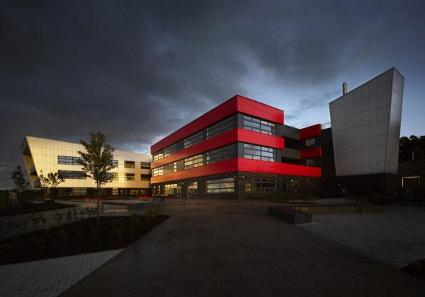 Blackburn Central High School with Crosshill
